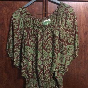 Sundance silk tunic